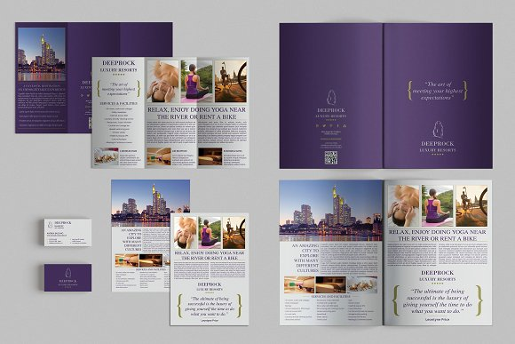 How To Design Brilliant Brochures Using Templates Creative - Best brochure templates