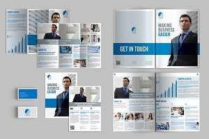 Set of Brochures / Stationery 02