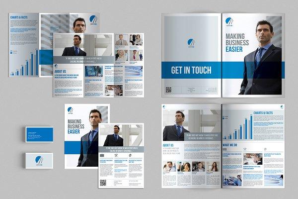 Set of Brochures / Stationery 02