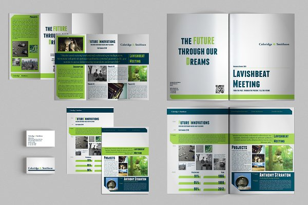 Set of Brochures / Stationery 00
