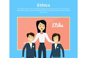 Children Education Ethics Banner