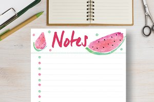 Notes Planner - A4 & A5 sizes