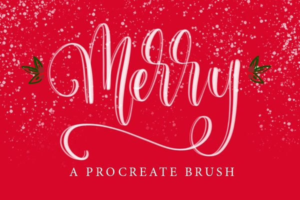 Merry Procreate Brush