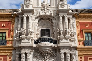 Palace of San Telmo Baroque Portal