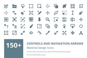 150+ Navigation Arrows Icons