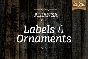 Alianza Labels & Ornaments