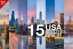 USA Big Cities 15 stunning photos