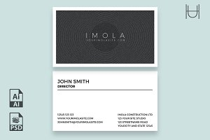 Imola - Business Card Template