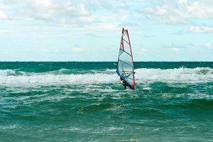 Sea Windsurfing Sport