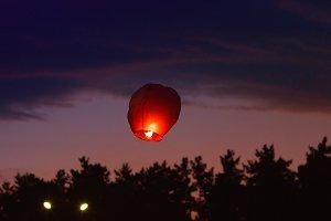 Sky Chinese Lantern