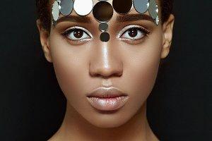 Ethnic beauty.