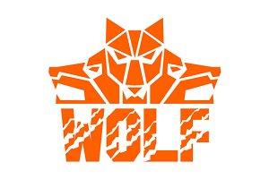 Wolf Pack Head Retro