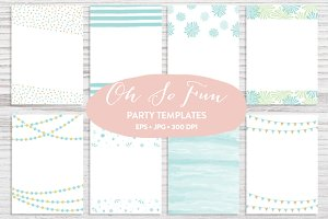 Trendy Invitation Templates