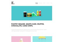 Ez Responsive Wordpress Theme by Basheer Ahmed in Minimal
