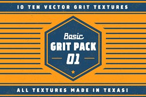 Basic Grit Pack 01 - Vector Textures