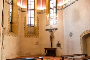 old small catholic church