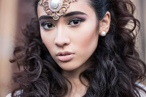 beauty Arabian girl