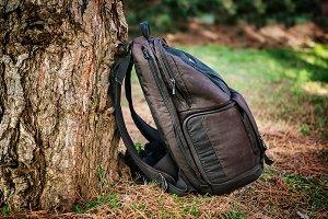 Black photography bag