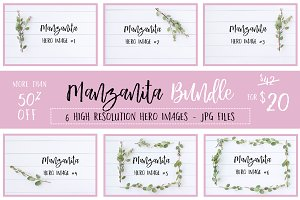Manzanita Stock Photo Bundle 50% OFF