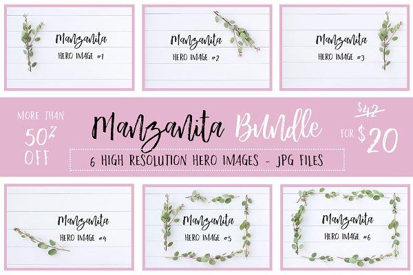 Manzanita Stock Photo Bundle 50% OF…