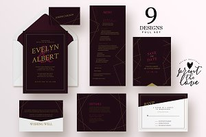 Wedding Invitation Suite - Astra