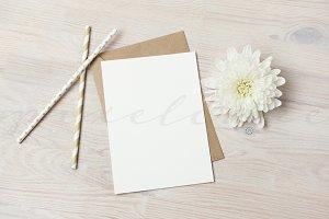 Invitation Card Mockup (CM0001)