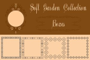 Soft Garden Collection Boxes