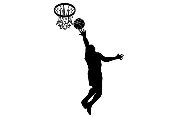 Basketball Player Lay-up Ball ~ Illustrations ~ Creative