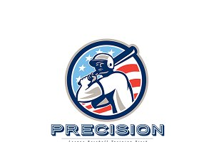 Precision Baseball Equipments Logo