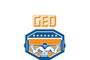 Geo Gym Fitness Logo