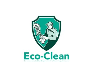 Eco-Cleaning Cleaning Solutions Logo