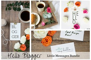 Blogger Photography & Mockup Bundle