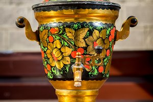 Beautiful vintage samovar