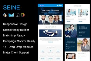SEINE - Responsive Email Template