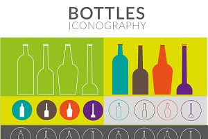 BOTTLES ICONOGRAPHY