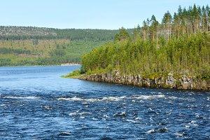 Summer river (Sweden)
