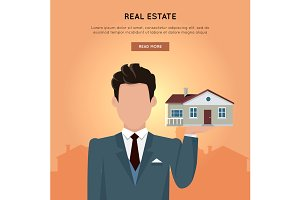Real Estate Vector Web