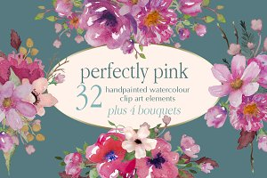 Perfectly Pink Floral Collection