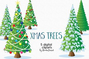 Christmas Tree Illustrations