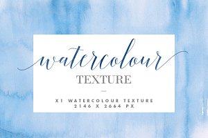 Blue Watercolour Texture