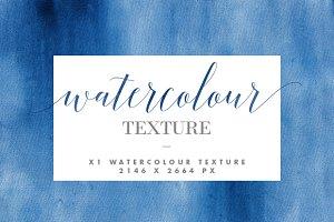 Indigo Watercolour Texture