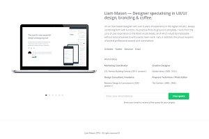 Mason - Minimal Responsive Resume