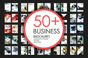 50+ Business Brochures Bundle