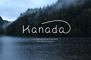 Kanada - Font