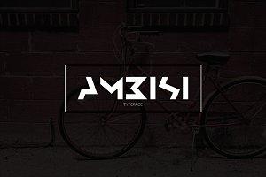 Ambisi Typeface Font