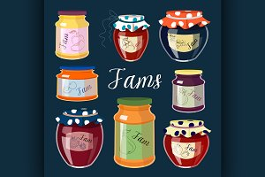 Fruit Jam set