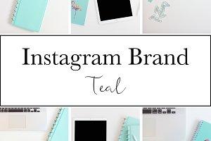 Instagram Brand|Teal