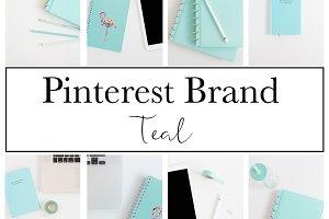 Pinterest Brand|Teal