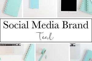 Social Media Brand|Teal