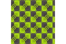 Acid and brown color pattern. Vector